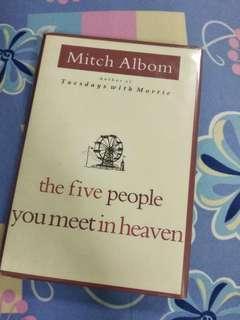 🚚 The five people you meet in heaven