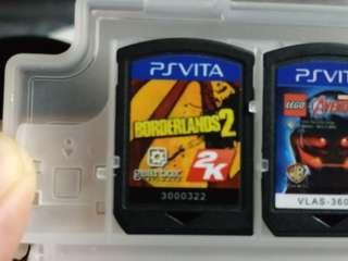 Borderlands 2 sony ps vita game cartridge no box psv