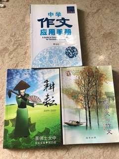Chinese model essay book 作文