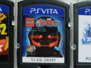 Lego marvel avengers sony ps vita game games cartridge no box psv psvita