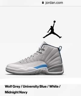 0fac51a694a52c Air Jordan 12 Wolf Grey