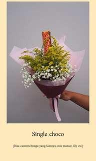 Single Choco Bouquet