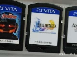Final Fantasy X HD remastered sony ps vita game cartridge no box psv square enix