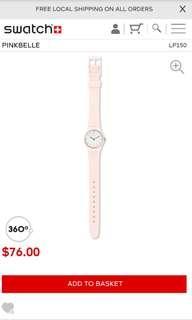 🚚 Swatch Pinkbelle Watch