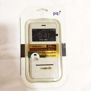 Gold Flip Case for Iphone 6-6s Plus