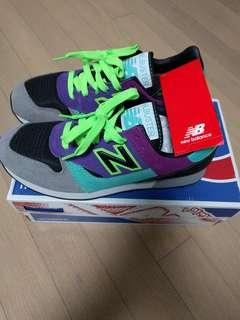 "NEW BALANCE ""TRAILBUSTER"" RETRO RUNNING SNEAKER GREY PURPLE TEAL TBTGP"