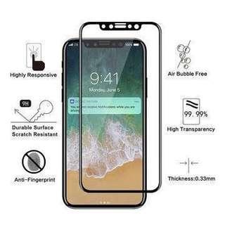 🚚 Premium Full Glue iPhone Tempered Glass Screen Protector