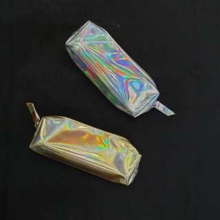 Tumblr Pencil Case Hologram / Tempat Pensil