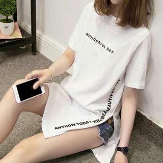 White tumblr dress
