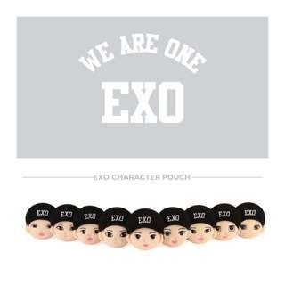[Pre-order] EXO CHARACTER POUCH