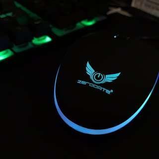 炫光懸浮式鍵盤+滑鼠