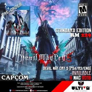 DEVIL MAY CRY 5 PRE-ORDER