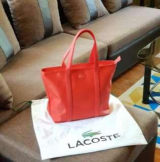 Brand New Lacoste Tote Bag