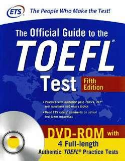 [DVD - Ebook] The Official Guide TOEFL iBT Test 2018