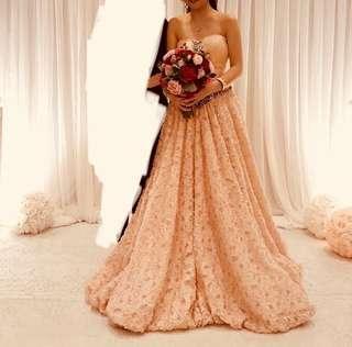 (婚後物資) 結婚 晚裝裙 迎賓裙 晚禮服