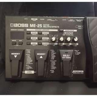 BOSS ME-25 Guitar Multi-Effects Pedal
