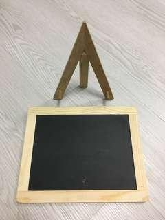 Wooden board for decoration & stand