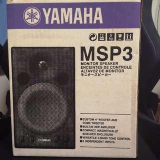 Yamaha MSP 3 Monitor Speakers