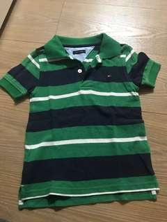 Tommy 兒童polo衫👕4T