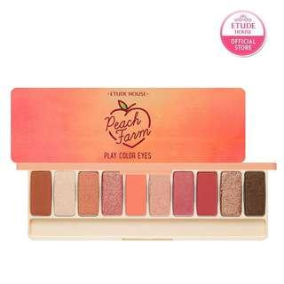 🚚 ETUDE HOUSE PEACH FARM眼影盤