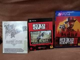 PS4 Red Dead Redemption 2 , RDR2