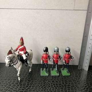 Changing of the Guards Diecast Figurines