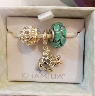 Chamilia Ocean Enchantment Charm Trio Gift Set