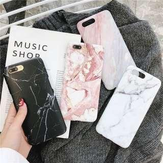 OPPO CASINGS: MARBLE DESIGN SERIES IN BLACK WHITE CORAL RED