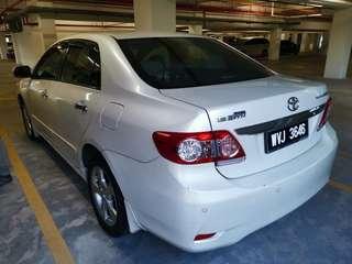 2011 Toyota Altis 1.8 G Dual VVTI ( 1 owner)