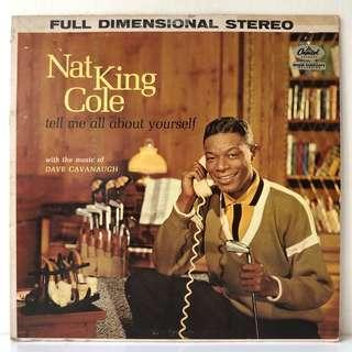 Nat King Cole – Tell Me All About Yourself (1960 US Original - Vinyl is Excellent)