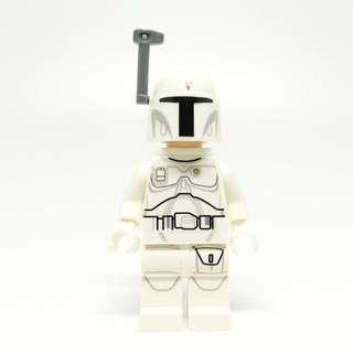 Lego Star Wars White Boba Fett