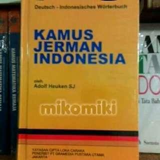 Kamus Jerman Indonesia Original - Adolf Heuken SJ