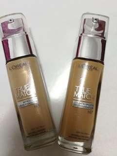 (Free Shipping)Loreal True Match Satin Smooth Foundation