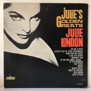 Julie London – Julie's Golden Greats (1963 US Original - Vinyl is Excellent)