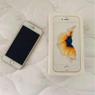 iPhone 6S Gold 128GB Malaysia MY Set