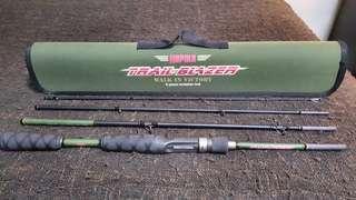🚚 Rapala trailblazer baitcasting rod travel