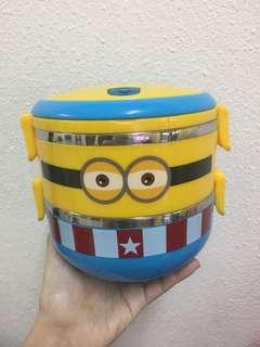 [Reduced] Cute Minion food container stainless steel