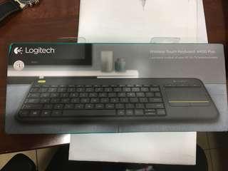 Logitech Wireless Keyboard K400 plus BNIB