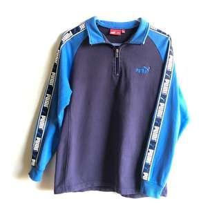 Puma quarter zip sweater