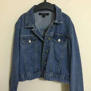 Slightly Used Forever 21 Denim Jacket