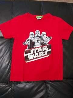 🚚 Bossini Star Wars Boy's Tshirt