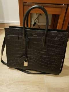 e616e9985c5f Authentic Yves Saint Laurent Sac De Jour bag