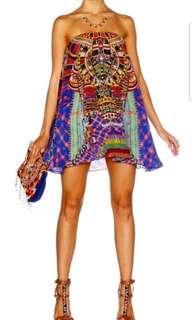 BNWOT Rainbow Warrior Mini Strapless Dress Size Small