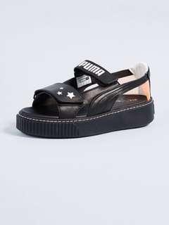 PO Puma X Sophia Webster platform sandals (black)