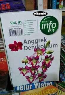 Buku Trubus Info Kit: Anggrek Dendrobium