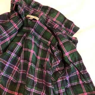 🚚 Uniqlo checkered flannel