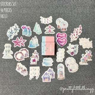 🚚 buy4free1 🌈《instock stickers set》frost
