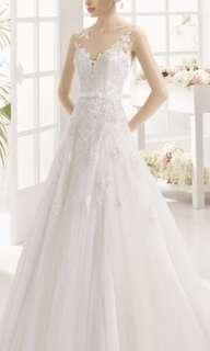 Aire Barcelona lace wedding gown 婚紗