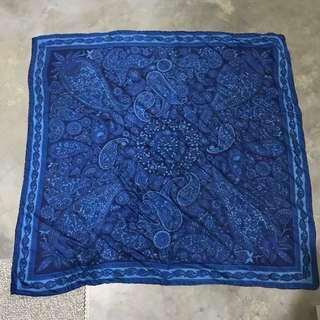 🚚 Blue Paisley Print Scarf