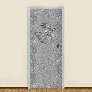 STONE DRAGON RESIDENTIAL DOOR ART